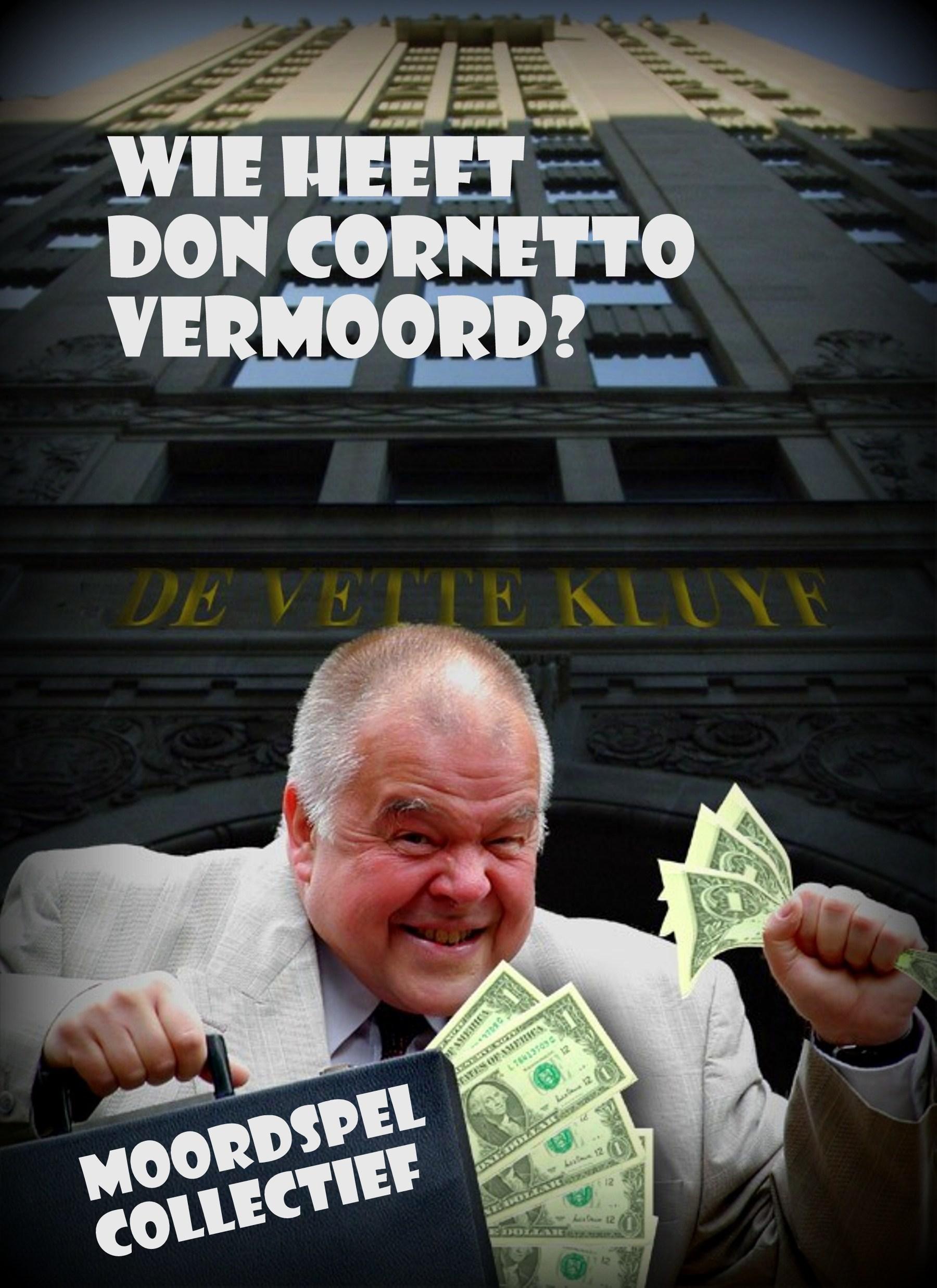 cover wie heeft don cornetto vermoord